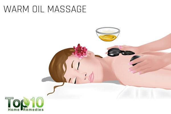 oil massage for pinched nerve