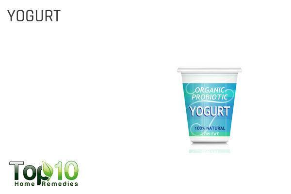 yogurt for angular cheilitis