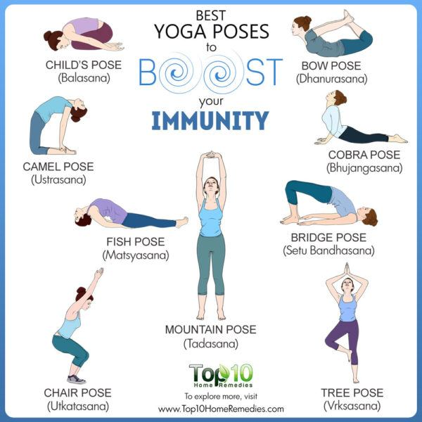 yoga poses to boost immunity