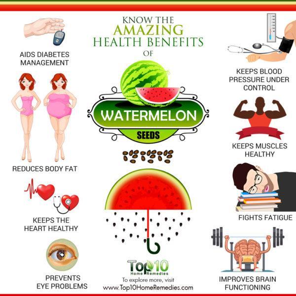 amazing health benefits of watermelon seeds