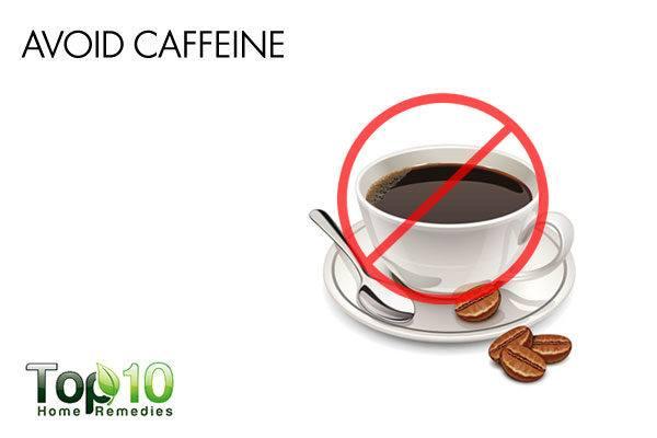 avoid caffeine during pregnancy