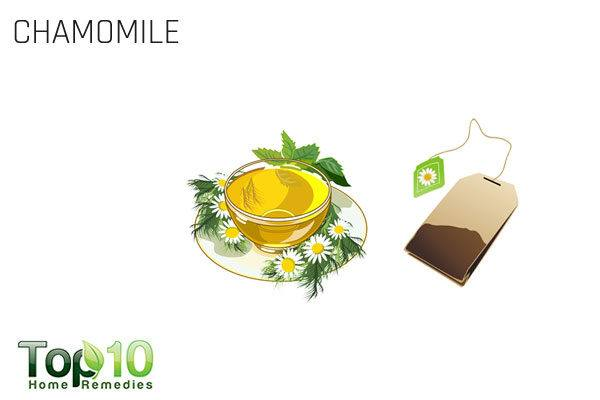 chamomile tea for itchy eyes