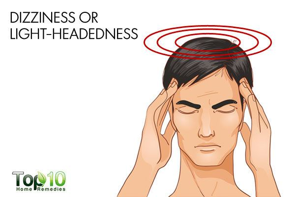 dizziness due to low blood pressure
