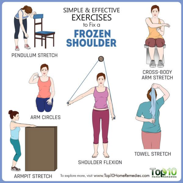 exercises to fix frozen shoulder
