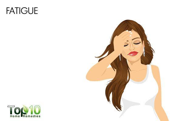 low bloop pressure causes fatigue