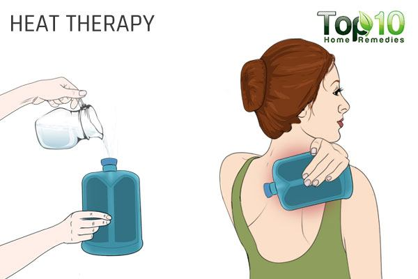 heat therapy for shoulder pain