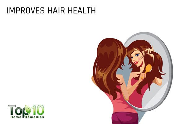 watermelon seeds improve hair health