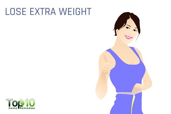 lose extra weight to reduce diabetes risk