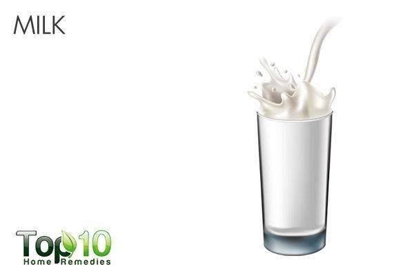 avoid milk when dealing with diarrhea