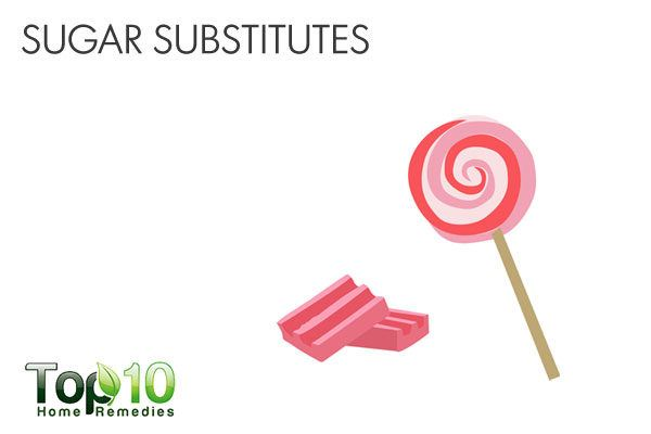 avoid sugar substitutes when suffering from diarrhea