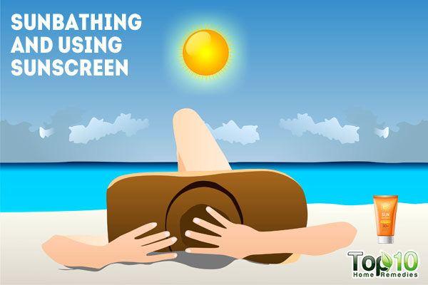 using sunscreen can clog your pores