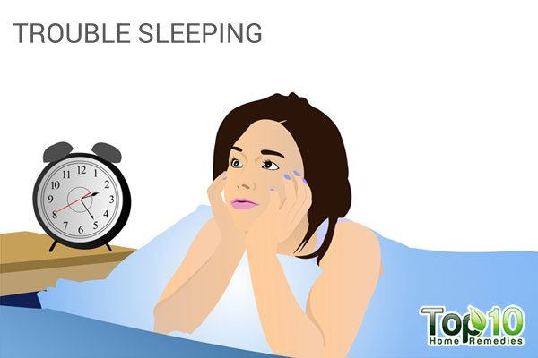 Sleep deprivation is also an important physical sign of depression