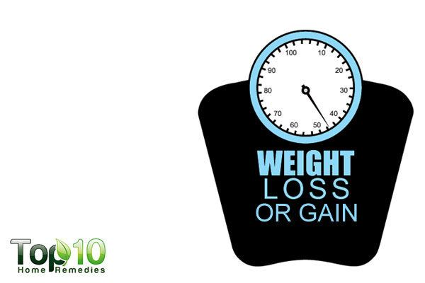 Weight loss or gain is one of many the physical signs of depression