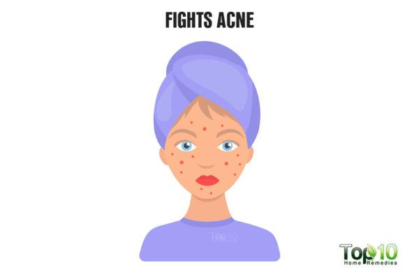 beer fights acne