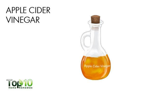 apple cider vinegar to reduce acne scars