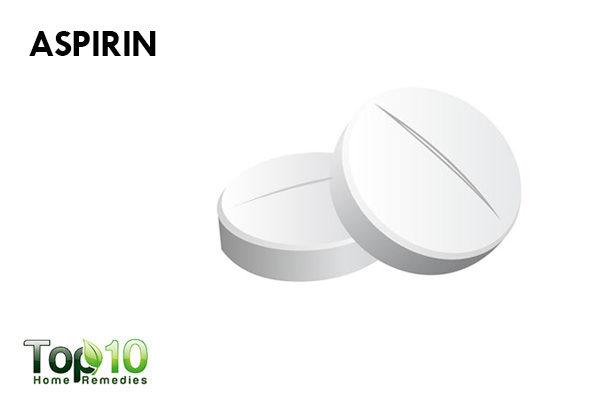 aspirin to reduce facial redness