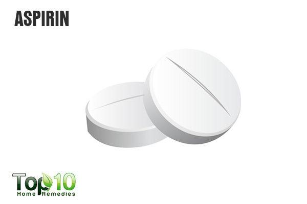 aspirin to treat vaginal cyst
