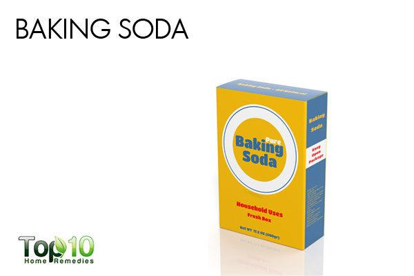 baking soda paste to remove acne scars