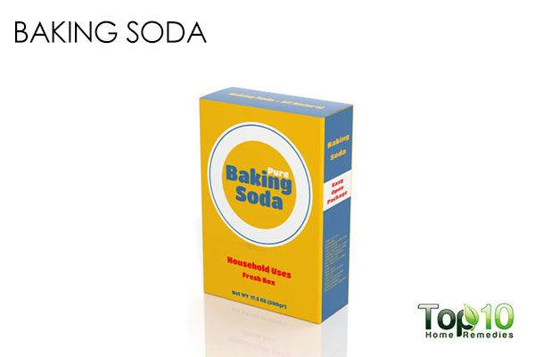 baking soda to get rid of blackheads out of ear