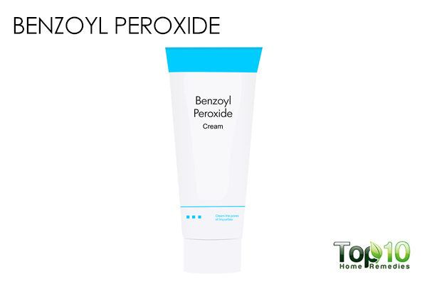 benzoyl peroxide to treat blackheads in ear