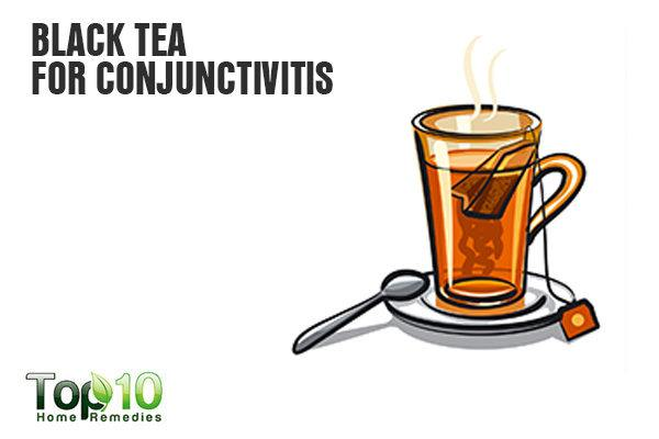 black tea fights conjunctivitis