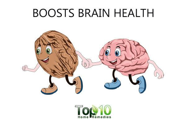 walnut boosts brain health