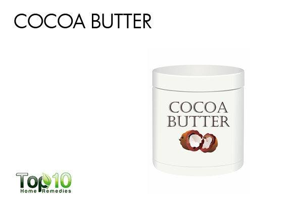 cocoa butter to treat acne scars