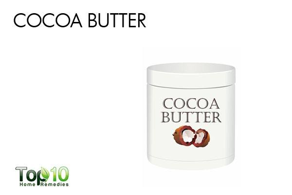 cocoa butter for face scars