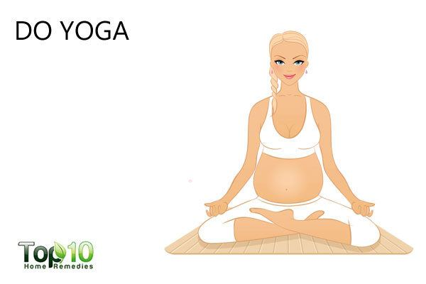 do yoga during pregnancy to control ADHD