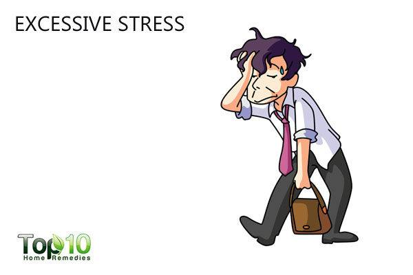 excess stress avoids muscle building