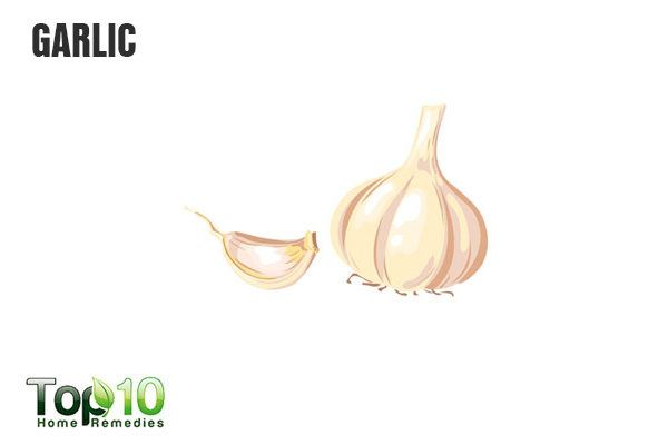 garlic for vaginal cysts