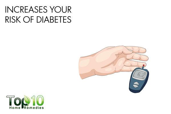 oversleeping increases your risk of diabetes