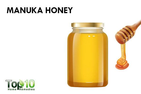 manuka honey to reduce pimple redness