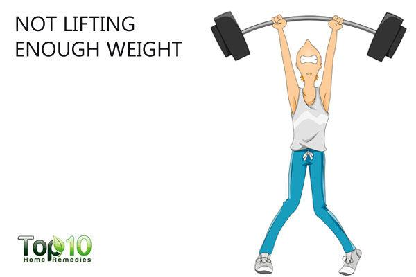 lift weight to build muscle