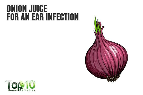 onion juice fights ear infection