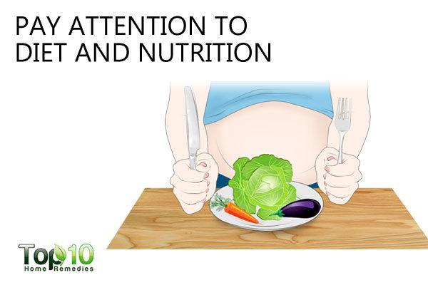 pay attention to diet and nutrition to control ADHD during pregnancy