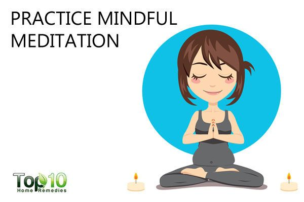 practice mindfulness meditation to deal with ADHD during pregnancy