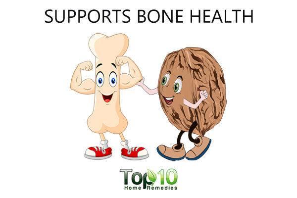 walnut supports bone health