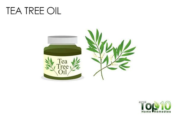tea tree oil to remove ear blackheads
