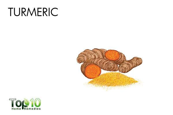 remove acne scars with turmeric