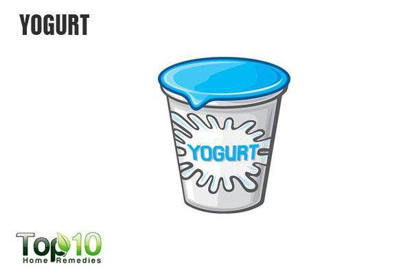 yogurt for vaginal cysts