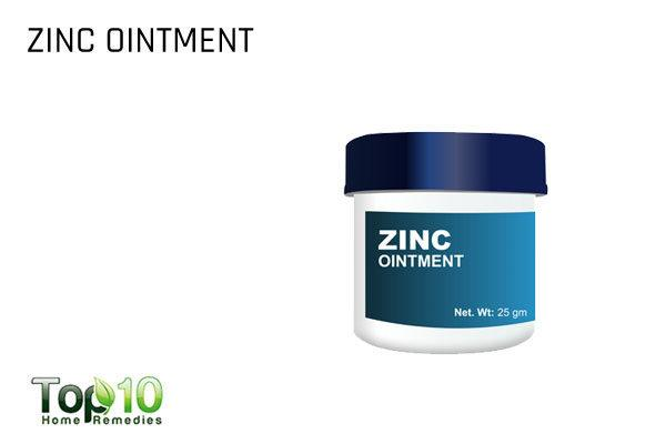 zinc ointment to reduce flat warts