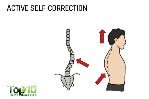active self correction for scoliosis