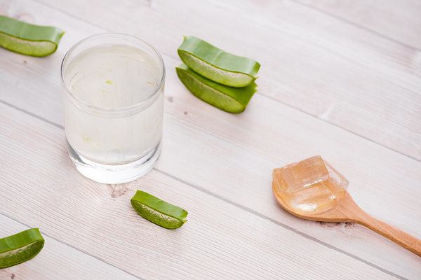 aloe vera juice and gel