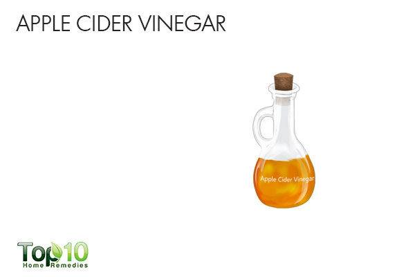 apple cider vinegar for upper abdominal pain