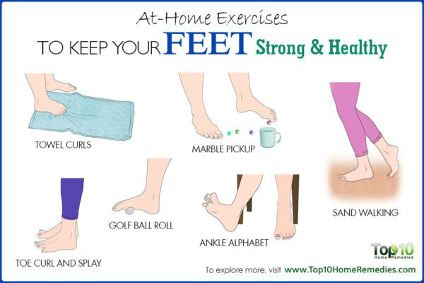 at-home exercises to keep feet strong