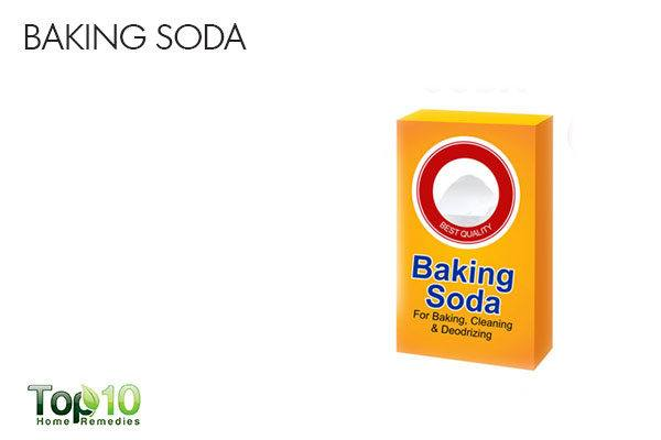 baking soda to ease upper abdominal pain
