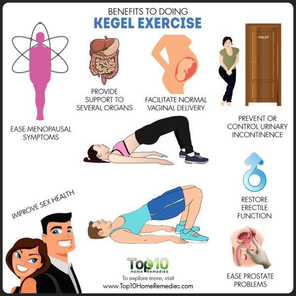 Benefits of Doing Kegel Exercises | Top 10 Home Remedies