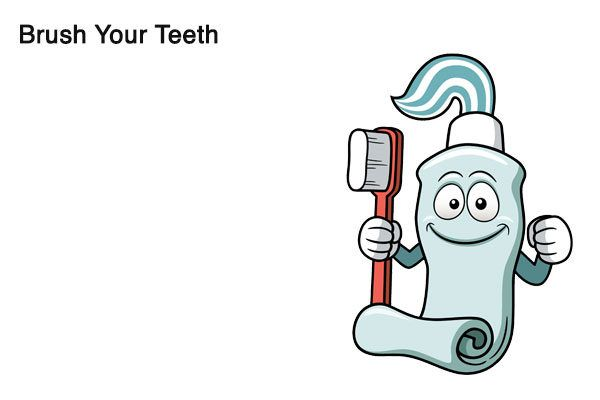 brush your teeth to treat alcohol odor
