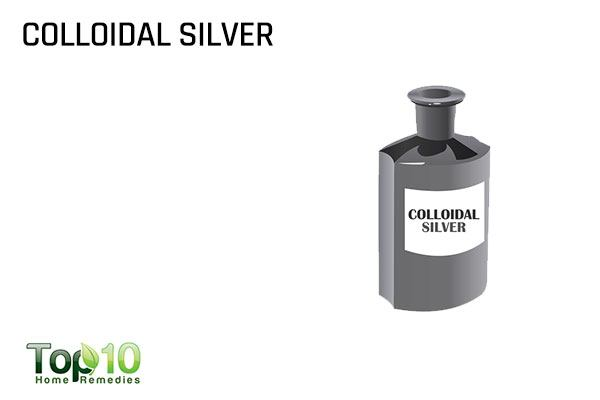 colloidal silver for plantar warts
